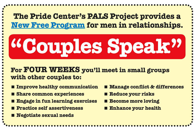 "New ""Couples Speak"" Counseling Program"