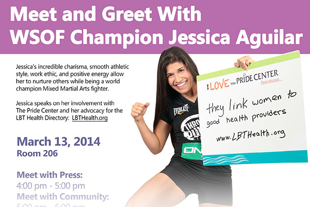 Meet and Greet With WSOF Champion Jessica Aguilar