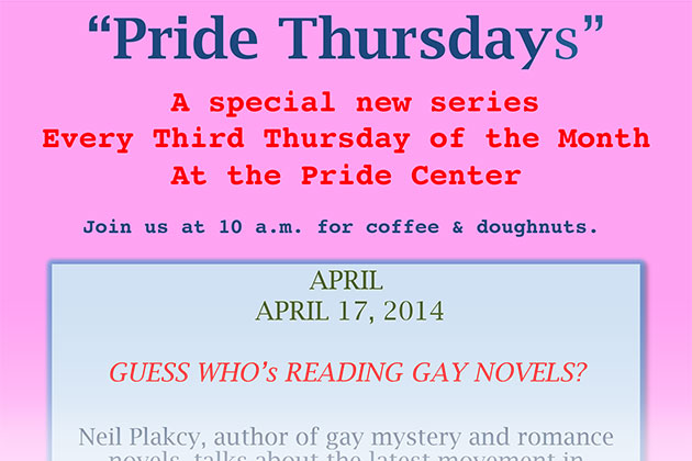 Pride Thursdays: Guess Who is Reading Gay Novels?