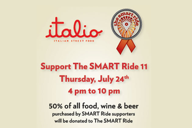 Italo Support the SMART Ride